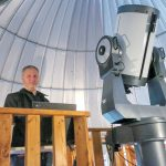 EDUCATIONAL OPPORTUNITIES: Scott MacNeill, observatory director at the Frosty Drew Nature Center and Observatory in Charlestown, has prioritized growing attendance and promoting astronomy and physics opportunities to local youth since joining the facility in 2009. / PBN PHOTO/BRIAN MCDONALD