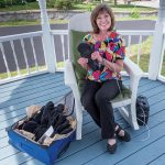SOFT SELL: Marita Loffredo, founder of Phalang-Ease Mittens, came up with the idea for the gloves due to her own challenges with rheumatoid arthritis. / PBN FILE PHOTO/­MICHAEL SALERNO