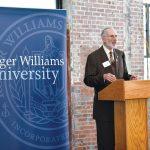 ROGER WILLIAMS UNIVERSITY President Donald J. Farish announced that he will retire in June 2019. / COURTESY ROGER WILLIAMS UNIVERSITY