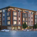 THE PROVIDENCE ZONING BOARD of Review will take up an appeal on May 9 of the City Plan Commission approval this year for a new mixed-use building at 1292 Westminster St. in the Armory Historical District. / COURTESY ZDS ARCHITECTS