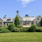 A NEWPORT MANSION originally built for Harold Brown is being relisted on the market for $5 million. / COURTESY SOTHEBY'S INTERNATIONAL REALTY