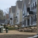 ENOUGH BEING BUILT? Affordable housing advocates see this complex being built in Burrillville, Garvey Ledges Lane, as important for the state, but they see too few of these kinds of projects coming to fruition in Rhode Island. / PBN FILE PHOTO/MICHAEL SALERNO