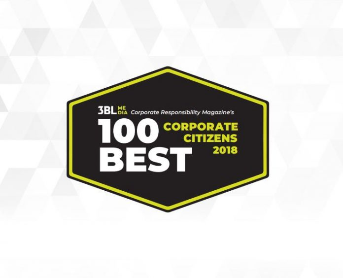 HASBRO AND CVS HEALTH were named among Corporate Responsibility Magazine's 2018 Top 100 Corporate Citizens. / COURTESY CORPORATE RESPONSIBILITY MAGAZINE