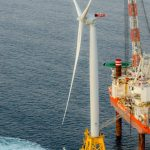 DEEPWATER WIND was selected by Rhode Island to build a 400 megawatt wind farm based on the company's response to a Massachusetts RFP. Massachusetts selected Vineyard Wind for an 800 megawatt project. / COURTESY DEEPWATER WIND