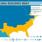 THE U.S. EAST region ranked No. 10 on the 2018 Resilience Index compiled by FM Global. Above, a screenshot of the index's interactive online tool. / COURTESY FM GLOBAL