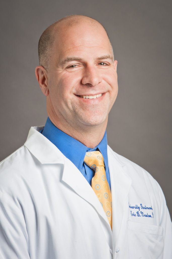 DR. ERIC B. NEWTON is a board-certified gastroenterologist at University Gastroenterology and a clinical associate professor of medicine at the Warren Alpert Medical School of Brown University. / COURTESY UNIVERSITY GASTROENTEROLOGY