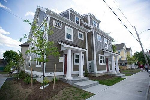 OLNEYVILLE, WHICH has had substantial reinvestment in the past decade, is among the areas of Providence identified in a new report as experiencing gentrification, such as increasing rents. / COURTESY ONE NEIGHBORHOOD BUILDERS