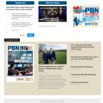 PROVIDENCE BUSINESS NEWS' home page now includes a new emphasis on each week's print edition, while each story allows readers to purchase a bypass link to share the story with nonsubscribers.