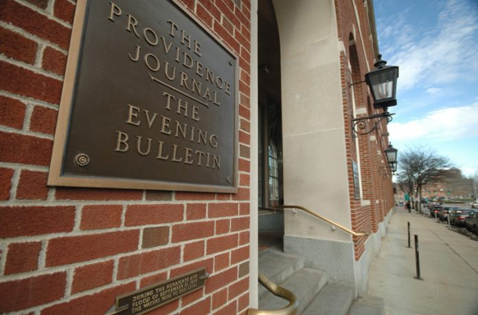 THE PRIVATE EQUITY-BACKED owners of The Providence Journal say that the cuts they have made to the staffs of the newspapers it has bought were of highly paid but unproductive reporters. / PBN FILE PHOTO/BRIAN MCDONALD