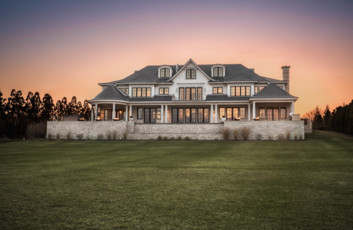THE NEWLY CONSTRUCTED 'Sea Grace' in Narragansett is the most expensive residential listing in Rhode Island at $18.2 million. / COURTESY MOTT & CHACE SOTHEBY'S INTERNATIONAL REALTY