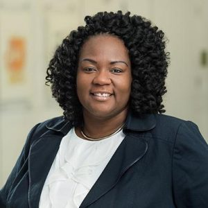 Shontay Delalue has served as vice president for institutional equity and diversity at Brown University since December 2017. / COURTESY BROWN UNIVERSITY