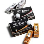 ACUSHNET HOLDINGS reported net income of $43.1 million in the first quarter, an 8.7 percent increase year over year despite a slip in sales when controlled for currency exchange rate fluxuations. Pictured is the company's flagship golf ball products, the Pro V1 and Pro V1x. / COURTESY TITLEIST