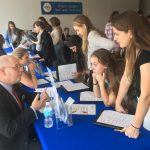 HIGH SCHOOL STUDENTS participate in a financial literacy fair to better understand the importance of living on a budget. Westerly Community Credit Union will sponsor the CU4Reality Financial Literacy Fair for Narragansett High School students on May 17. / COURTESY WESTERLY COMMUNITY CREDIT UNION