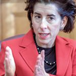 IT STARTS AT THE TOP: Critics and political opponents say Gov. Gina M. Raimondo should have known about the deception that a state lawyer was committing by not filing a timely appeal to a court ruling about state reimbursement rates to nursing homes. / PBN FILE PHOTO/­MICHAEL SALERNO