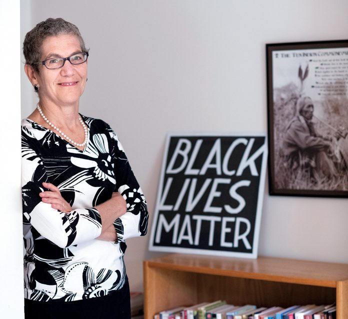 LONGTIME TRAINER: Judy Kaye, owner of Providence-based Kaye Training & Consulting, has been working as a consultant with small and large employers, as well as individuals, on diversity and racial-bias training for 25 years.  / PBN PHOTO/MICHAEL SALERNO