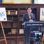 DESIGNING PARTNERSHIP: Half a year after Gov. Gina M. Raimondo revealed Infosys' plans to create a Design and Innovation Hub in Providence, the company announced it was partnering with RISD to build a training curriculum here. 