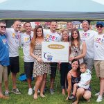 RELAY TEAM: Cintas employees take part in the American Cancer Society's 2015 Hope Relay for Life. The Rhode Island chapter of the American Cancer Society will hold its 10th annual Relay for Life of Greater Westerly June 29-30 at Westerly High School.