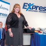 BEST DECISION: Liliana V. Dolan, owner of Express Employment Professionals in Warwick, worked as an office manager in a Providence law firm before beginning her own staffing agency and then making it national.