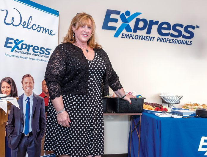 BEST DECISION: Liliana V. Dolan, owner of Express Employment Professionals in Warwick, worked as an office manager in a Providence law firm before beginning her own staffing agency and then making it national. / PBN PHOTO/MICHAEL SALERNO
