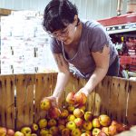 EXCESS FOOD: Eva Agudelo launched Hope's Harvest Rhode Island in February, a nonprofit that works with farms and food-service organizations to identify excess food and transport it to organizations that serve it to those in need.