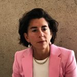 GOV. GINA M. RAIMONDO has directed the R.I. Department of Adminstration to implement reforms that will enhance accountacbility, strengthen the state's standards for certification and licensing for employees and reforms that will increase the state's ability to discipline those who fail to meet those standards. / PBN FILE PHOTO/ELI SHERMAN