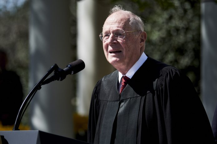 SUPREME COURT JUSTICE Anthony Kennedy announced he will retire on July 31. / BLOOMBERG FILE PHOTO/T.J. KIRKPATRICK