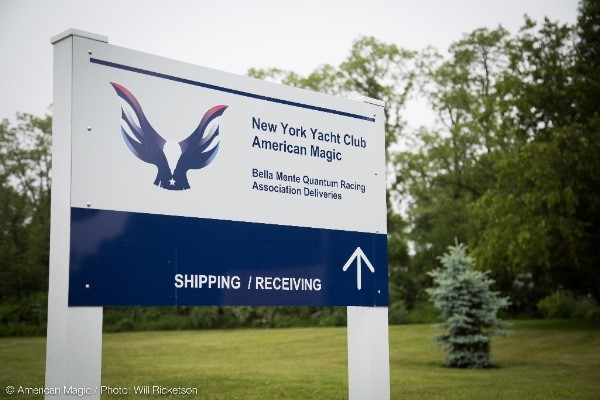THE RHODE ISLAND MARINE TRADE ASSOCIATION ANNOUNCED THURSDAY, New York Yacht Club American Magic would build a facility in Bristol to accommodate the construction of two AC75s - a new racing model - for the upcoming America's Cup race in 2021. / COURTESY RIMTA
