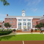 STONEHILL COLLEGE IS THE RECIPIENT OF A $25 million tax-exempt bond from MassDevelopment and a $10 million alumnus donation in support of the establishment of its Leo J. Meehan School of Business. / COURTESY BOND