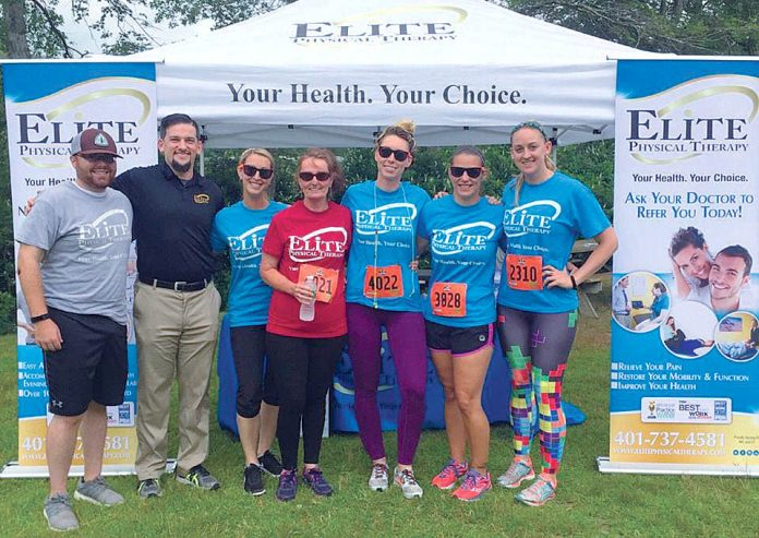 THERAPEUTIC SPIRIT: Elite Physical Therapy staff ran in and provided physical therapy during the May 2017 BoldrDash.