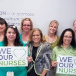 SUPPORTING NURSES: MAS Medical Staffing celebrates National Nurses Day at the company's North Providence office in April 2017. / COURTESY MAS MEDICAL STAFFING