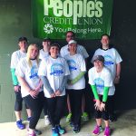 FOOD RUN: People's Credit Union was title sponsor for the Bristol Warren Education Foundation's 5K/10K Food Truck event May 12.