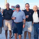 EMPLOYEE APPRECIATION: Sansiveri's partners at the all-employee summer outing to watch the PawSox at McCoy Stadium in August 2017.