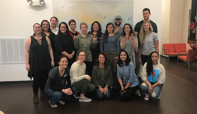 EFORALL South Coast's newest cohort and staffers plan a year of business development and mentorship exercises./COURTESY EFORALL