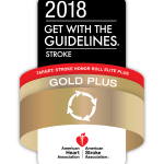 GET WITH THE GUIDELINES GOLD PLUS AWARDS were given to Kent Hospital, Rhode Island Hospital and South County Hospital this year.