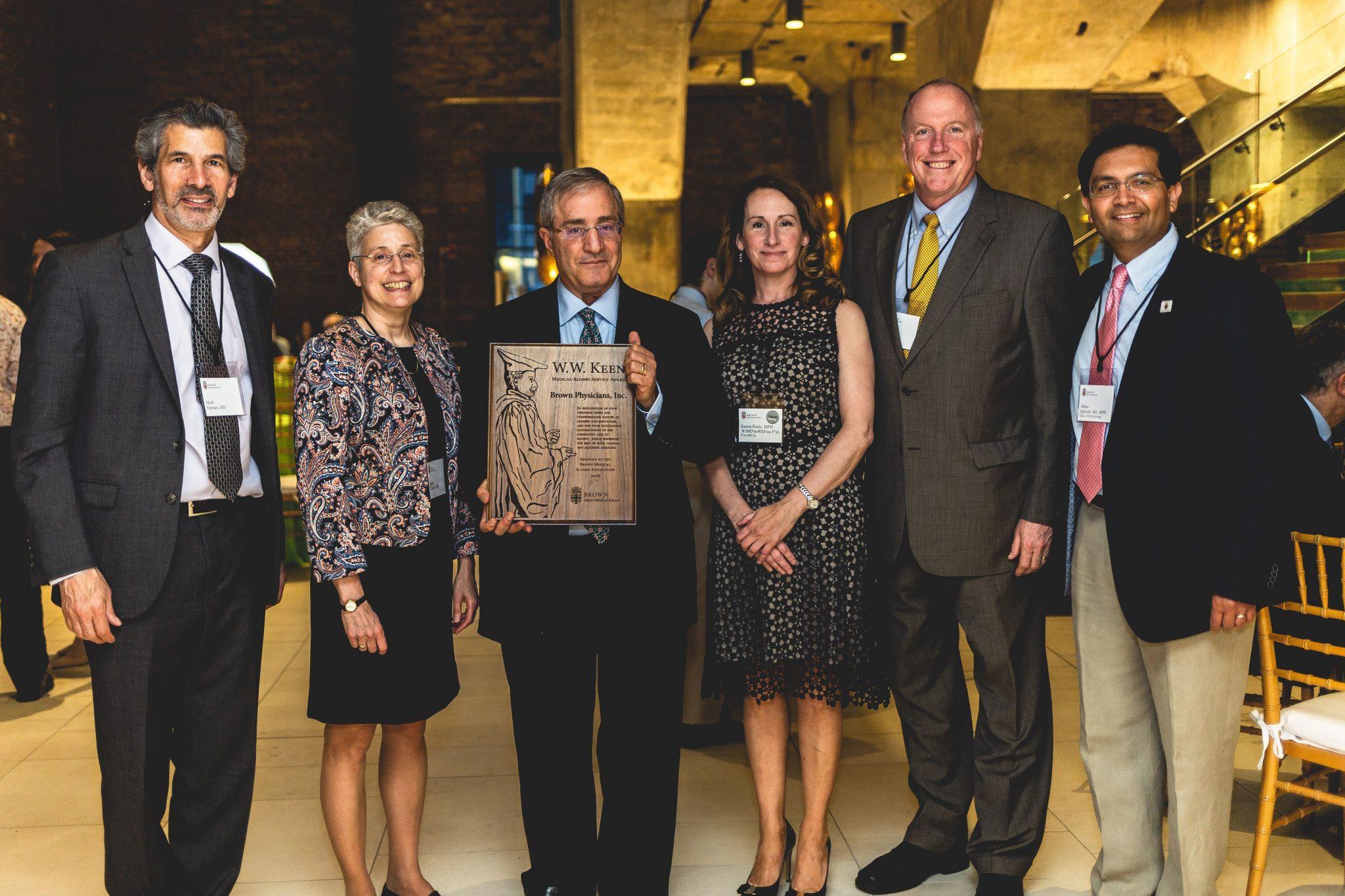 Brown Physicians senior leadership team wins WW Keen Award