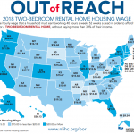 THE NATIONAL Low Income Housing Coalition has found a stubborn gap between what renters earn, and how much apartments cost. / COURTESY NATIONAL LOW INCOME HOUSING COALITION