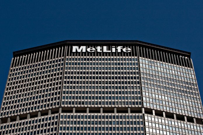 THE METLIFE BUILDING, home of the MetLife Inc. headquarters, stands in New York. The company was the target of a complaint filed Monday by Mass. Secretary of the Commonwealth William F. Galvin, charging MetLife with failing to make pension payments to hundreds of Massachusetts retirees. / BLOOMBERG FILE PHOTO/DANIEL ACKER