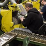 U.S. MANUFACTURING EXPANDED in May faster than expected despite rising costs. / BLOOMBERG FILE PHOTO/TY WRIGHT