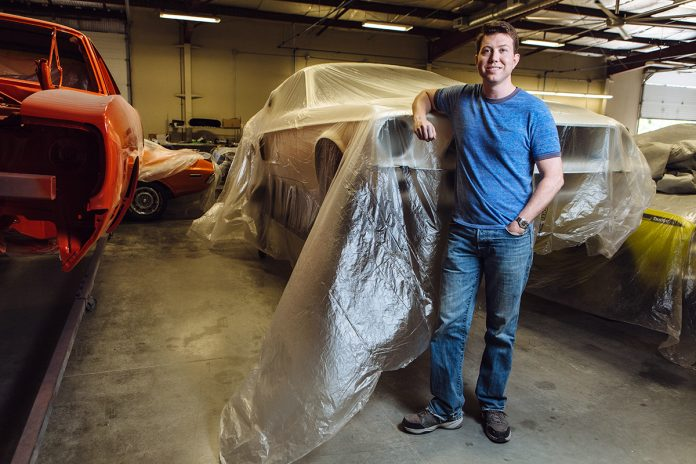FAMILY HOBBY: For Michael Mancini, owner of American Muscle Car Restorations in North Kingstown, restoring cars began as a family hobby that has turned into a full-time career.