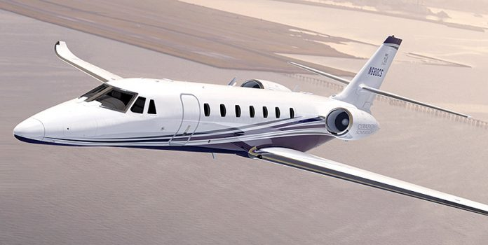 TEXTRON reported net income of $224 million in the second quarter of 2018, largely driven by a $50 million profit increase in the company's aviation segment. / COURTESY TEXTRON AVIATION