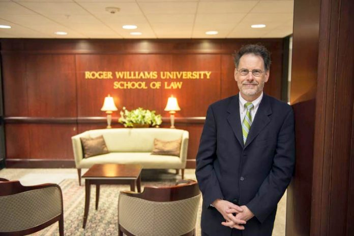 MICHAEL J. YELNOSKY, who has served as Roger Williams University School of Law dean for four years to the week, along with public sector union leaders and other academics, comments on the local impact of the U.S. Supreme Court's June 27 ruling in Janus vs. AFSCME Council 31. PBN FILE PHOTO / COURTESY JULIE BRIGIDI/OGGI PHOTOGRAPHY