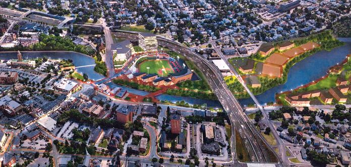 COVER OF DARKNESS: Final passage and signing of the legislation that supports the building of a new ballpark for the Pawtucket Red Sox along the Pawtucket River did not happen in the most transparent way. 