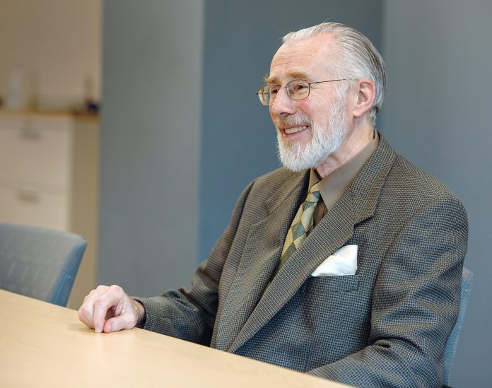 SPREADING OPPORTUNITY: Donald J. Farish succeeded in expanding the benefits of higher education to an increasingly diverse student population. 