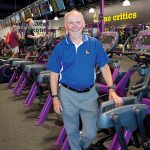SECOND CAREER: Steve Eddleston, who used to work as a computer engineer, turned his passion for jogging into a second career. He now owns 14 Planet Fitness locations in Rhode Island and Bristol County, Mass.