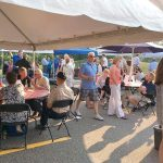 BUSINESS BARBECUE: Attendees gather for the Tri-Town Chamber of Commerce's summer business barbecue in Mansfield in 2016. This year's event welcomes all businesses regardless of Chamber membership and will be held July 26 at the Tri-Town Chamber of Commerce in Mansfield.
