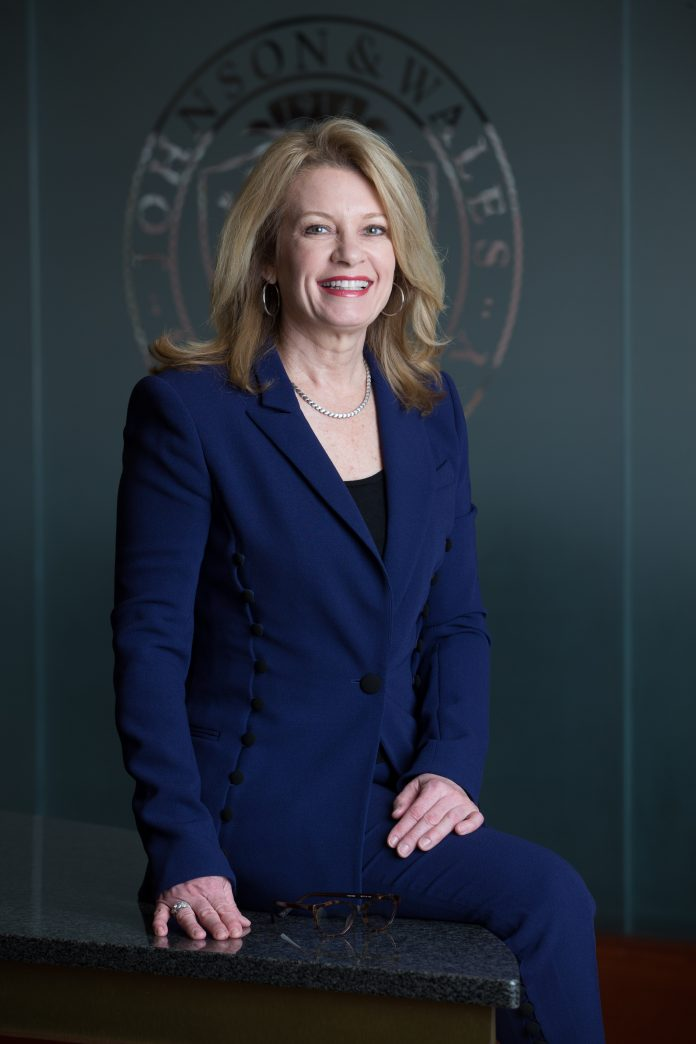 EFFECTIVE OCT. 1, Mim L. Runey will succeed John J. Bowen as the third Johnson & Wales University chancellor in the school's 104-year history. / COURTESY JOHNSON & WALES UNIVERSITY