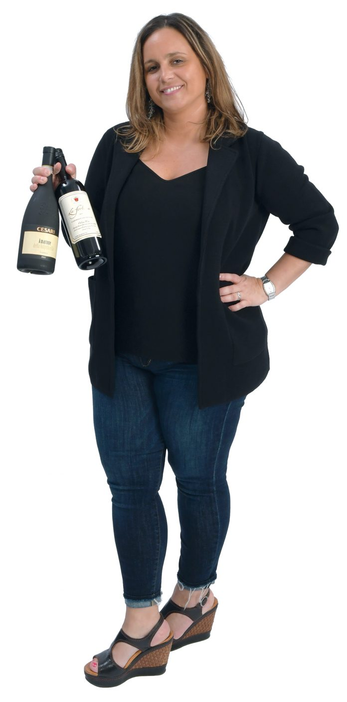 the prop: Wine is an important part of the business, and it's a passion of DeQuattro. / PBN PHOTO/MIKE SKORSKI
