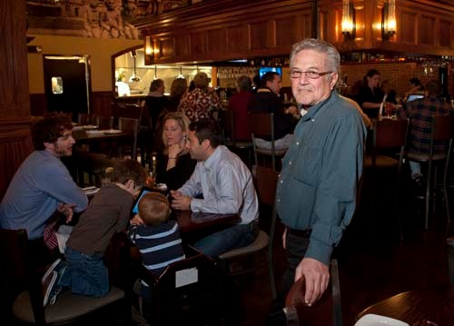 JOE PISCOPIO, founder of the Iron Works Tavern in Warwick along with his wife Lori, has agreed to sell the restaurant to the Newport Harbor Corp. Details of the transaction were not disclosed. / PBN FILE PHOTO/DAVID LEVESQUE