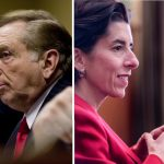 IN THE GOVERNOR'S RACE, only Gov. Gina M. Raimondo, a Democrat, and Joseph Trillo, who is running as an independent, will not seek state matching funds for the private contributions they raise in 2018. / PBN FILE PHOTOS/STEPHANIE EWENS/MICHAEL SALERNO