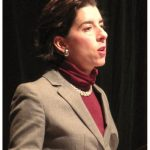 "THE U..S. SECURITIES AND EXCHANGE COMMISSION has fined Oaktree Capital Management for violating ""pay-to-play"" rules regarding campaign contributions to Gov. Gina M. Raimondo during her 2014 run for office. Her office said that the contribution was flagged and returned at the time. / PBN FILE PHOTO/MARK S. MURPHY"
